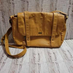 ROXY | Tan Brown Shoulder Bag with Adjustable Straps